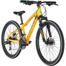 "Serious Rockaway 24"" Disc Børn, yellow/black"